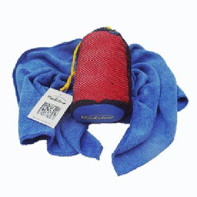 Håndkle av mikrofiber/microfiber (35cmx75xm) med oppbevaringspose
