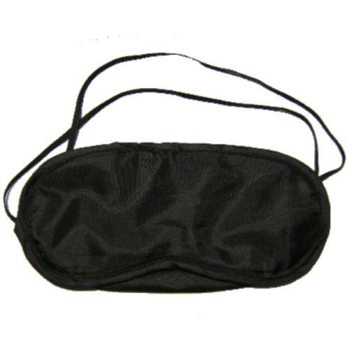 Sovebrille med elastisk bånd i svart