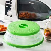 Ungå sprut og enkelt tilbered mat i mikrobølgeovnen med dette foldbare lokket fra Tap it Tap.
